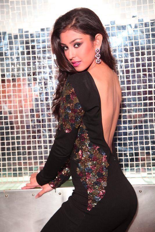 Navneet Kaur Dhillon Black Dress Image