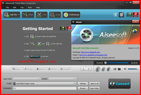 aiseesoft total video converter 8.1.10 registration code