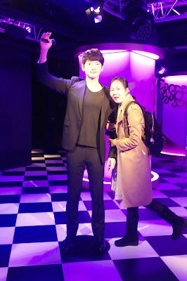 K-pop stars Jung Ji Hoon / Rain (정지훈 / 비) at Grevin Seoul | www.meheartseoul.blogspot.sg