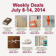 Items on Sale! July 8 to 14