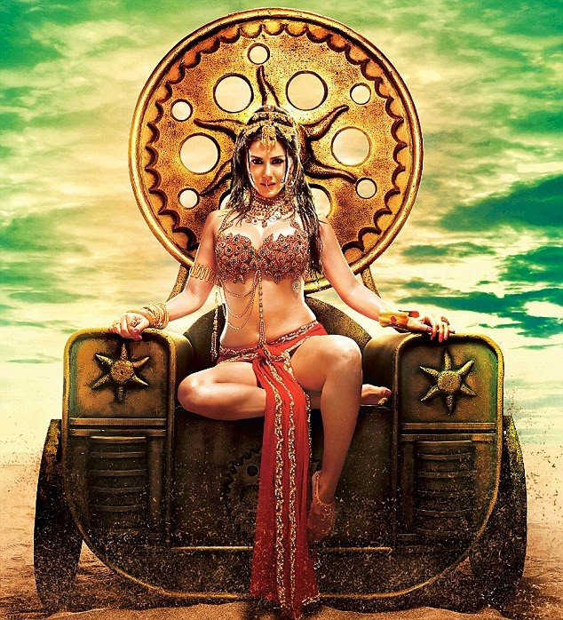 Sunny Leone princess look photos, Sunny Leone Leela movie wallpapers, Leela movie Sunny Leone poster, Sunny Leone hot princess wallpaper,
