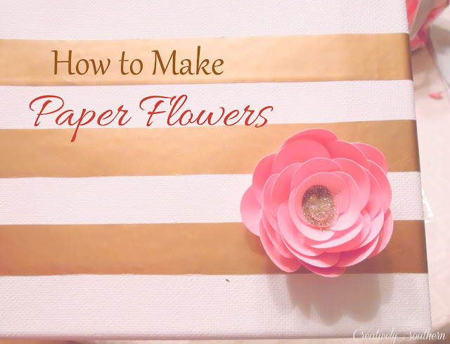 How to make paper flowers craft