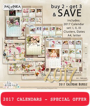 2017 - Calendars and Clusters Bundle