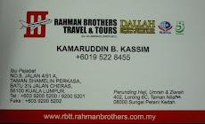Ustaz Kamaruddin bin Kassim, Perunding Haji, Umrah & Ziarah