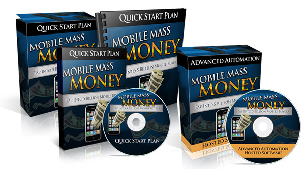 10 minutes easy set-up of the Mobile Mass Money software and watch as the money starts rolling in on complete autopilot.