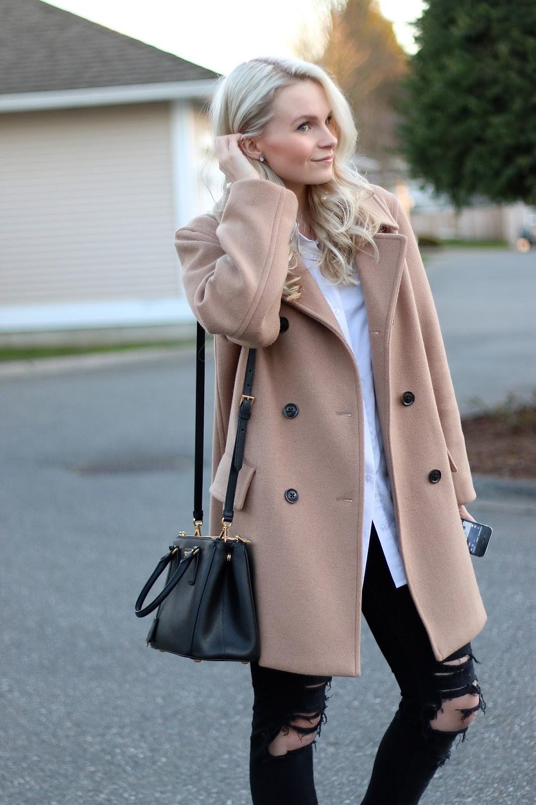 classic camel coat