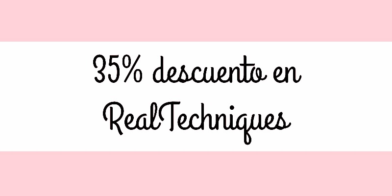 descuento de real techniques en lookfanstatic.es