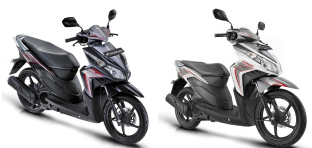 motor matic keluaran terbaru dari pabrikan honda yaitu honda vario title=