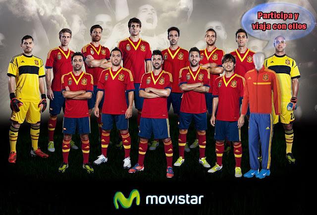 Gana un viaje a Paris o Gijón gratis siguiendo a la Selección Española