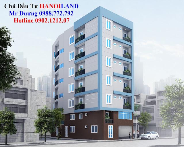 HANOILAND bán chung cư giá rẻ Nhật Tảo 7 Từ Liêm có Sổ Hồng Riêng