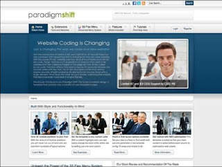 Paradigm Shift Template For Joomla 1.7