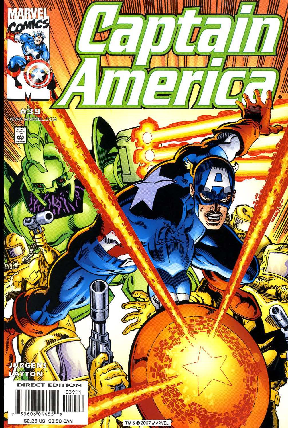 Captain America (1998) Issue #39 #46 - English 1