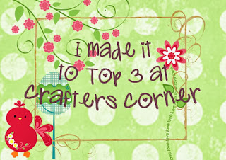 Top 3 in  Crafter's corner's 'Thank you very much' challenge