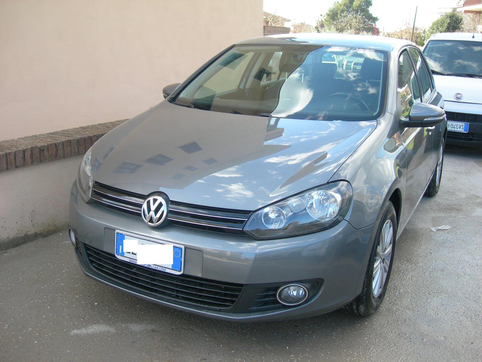 VW GOLF 6 1.6 TDI 105 CV CONFORTLINE ANNO 2011 80.000 KM ACCESSORIATA