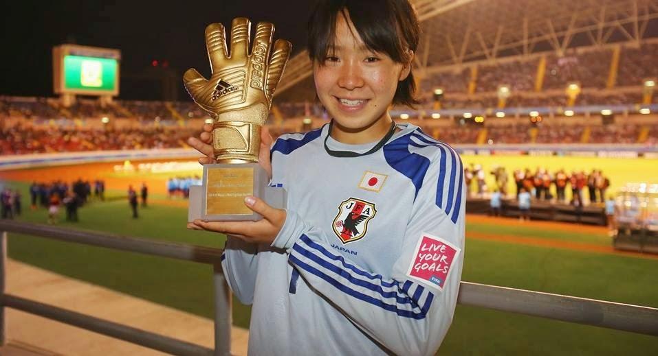 Mamiko Matsumoto : Adidas Golden Glove (GK)