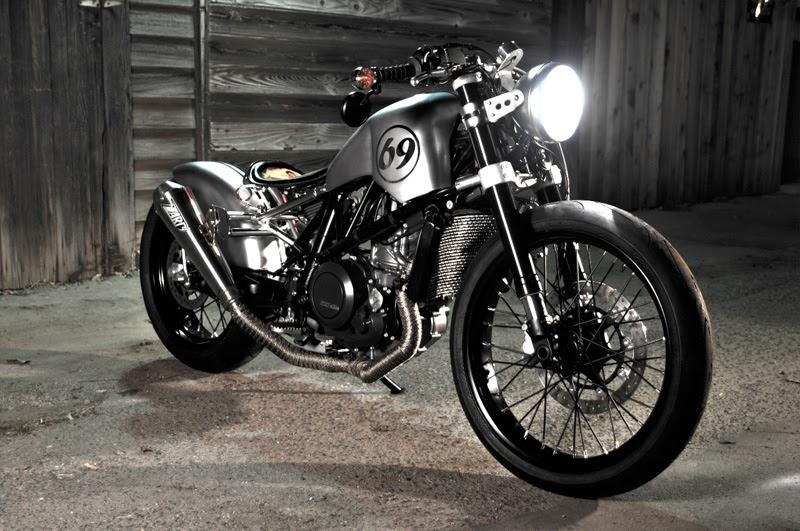 KTM 690 supermoto | Bobber | KTM 690 Bob Racer | KTM 690 Bobber | Custom KTM 690 | KTM 690 Custom | KTM 690 Racer | Sven