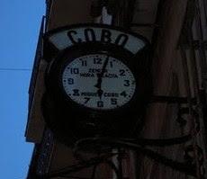 El tiempo en la pared