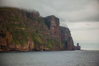 Old man of hoy from the Ferry to Orkney