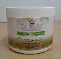 masker rambut zarraz, shampoo zarraz, rawatan rambut zarraz, produk rawatan rambut