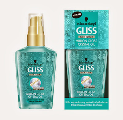 Million Gloss crystal oil gliss