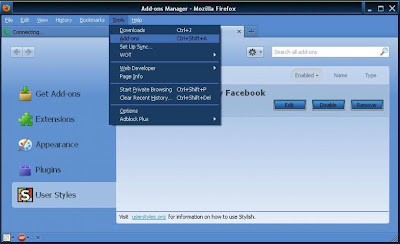 Cara Mengganti Background Facebook