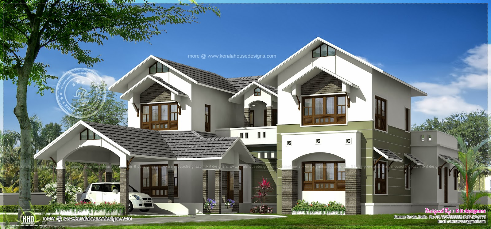 luxury house elevations kerala joy studio design gallery