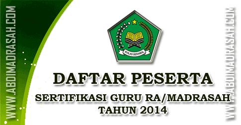 Sertifikasi Guru RA/Madrasah