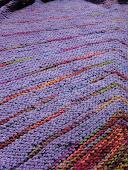 Stripe Study Shawl KAL