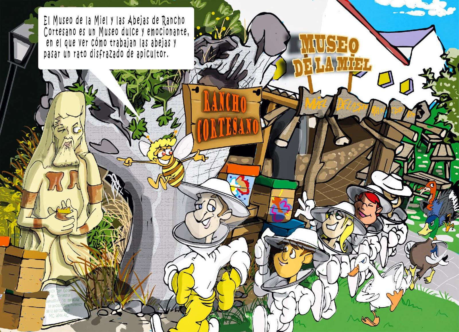 """<img src=""""Rancho Cortesano.jpg"""" alt=""""Abejas y miel en dibujos""""/>"""