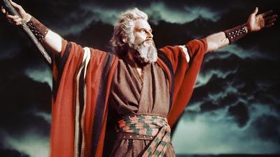 Charlton Heston Mosè Dieci Comandamenti