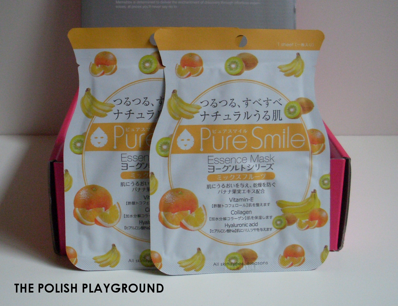 Memebox Superbox #54 Yogurt Cosmetics Unboxing - Pure Smile Yogurt Mask Mixed Fruits