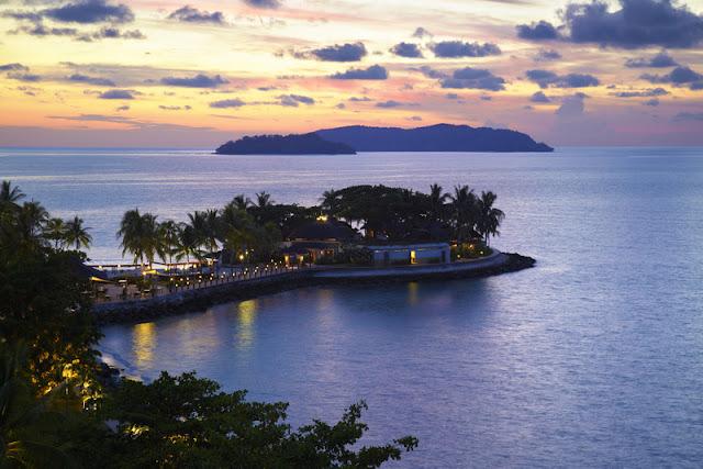 Chi Spa, Shangri-La's Tanjung Aru Resort, Kota Kinabalu, massage