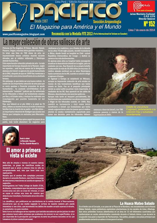 Revista Pacífico Nº 152 Arqueología
