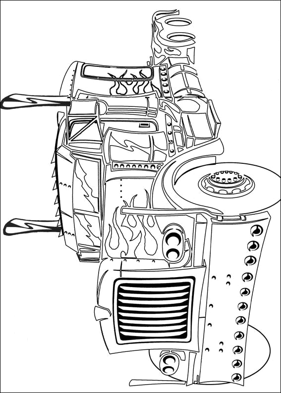 transformer 3 coloring pages - photo#2