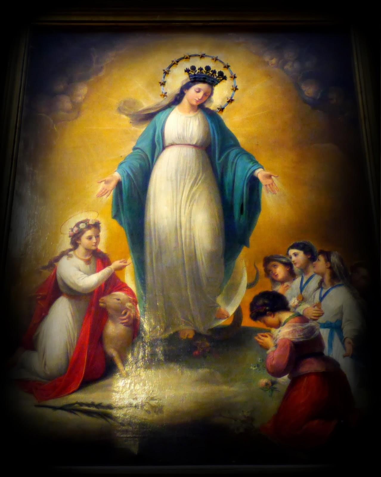 A María Inmaculada, Reina y Señora de este blog