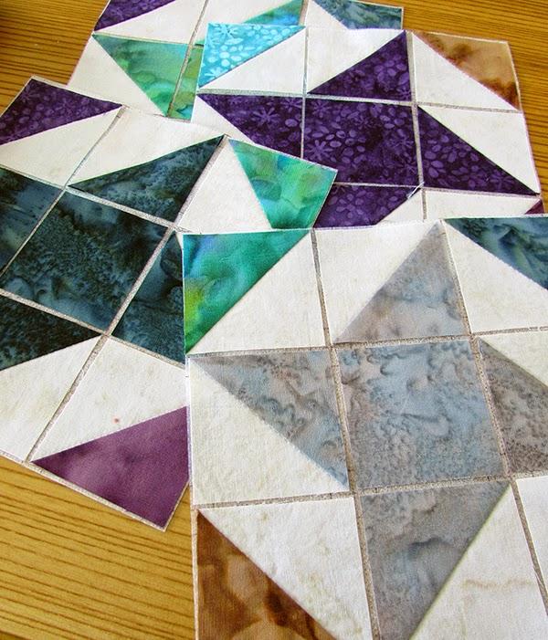 ribbon star quilt blocks