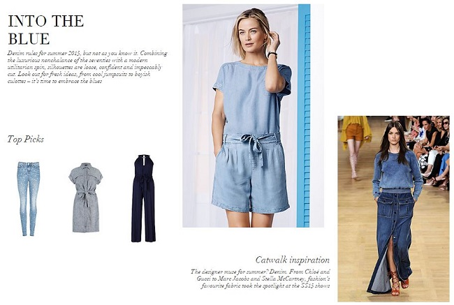 4948b9be4a30 M S Summer Trends - Into The Blue!