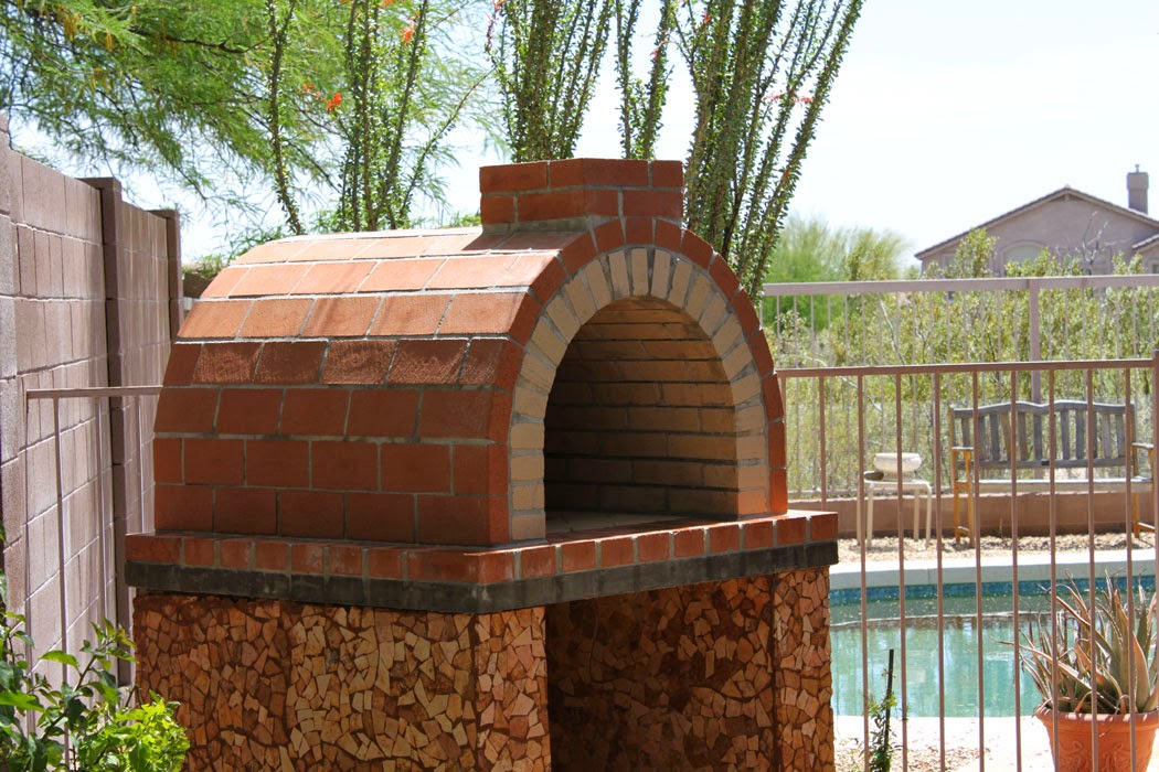 louis diy wood fired outdoor brick pizza oven