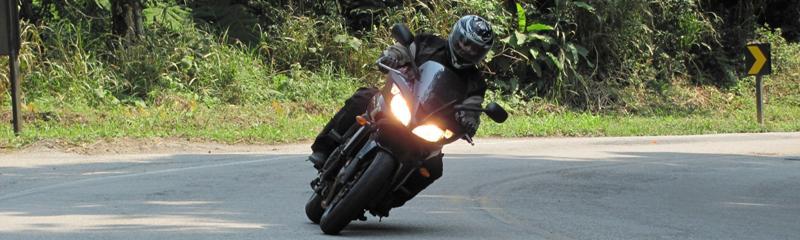 Viagem de moto pela America do Sul