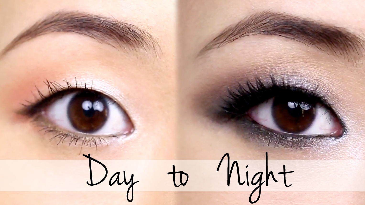 Easy Day to Night Makeup Tutorial | Tina Yong - YouTube