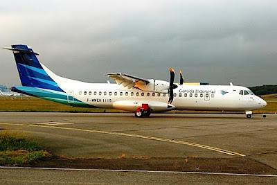 Garuda Indonesia ATR 72-600 F-WWEH. ZonaAero