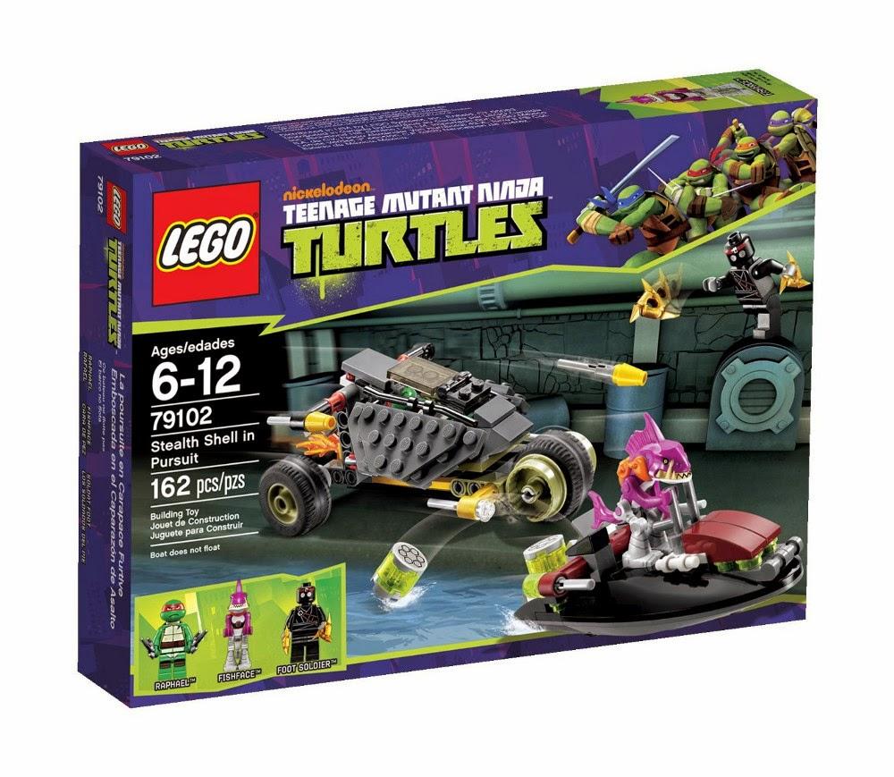 TOYS - LEGO Tortugas Ninja  79102 Emboscada en el Caparazón de Asalto Juguete Oficial | LEGO Teenage Mutant Ninja Turtles  Stealth Shell in Pursuit | A partir de 7 años