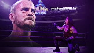 Infograph » WrestleMania - CM Punk vs Undertaker - The Reign vs. The Streak [WWE.COM Report]