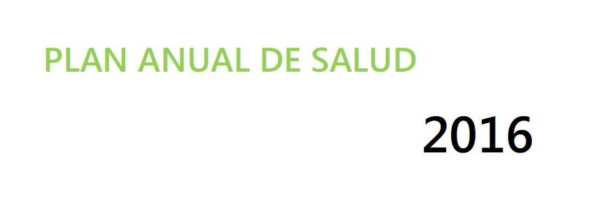 Plan de Salud 2016