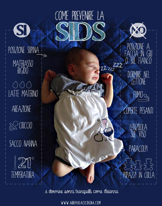 prevenzione della SIDS - morte in culla