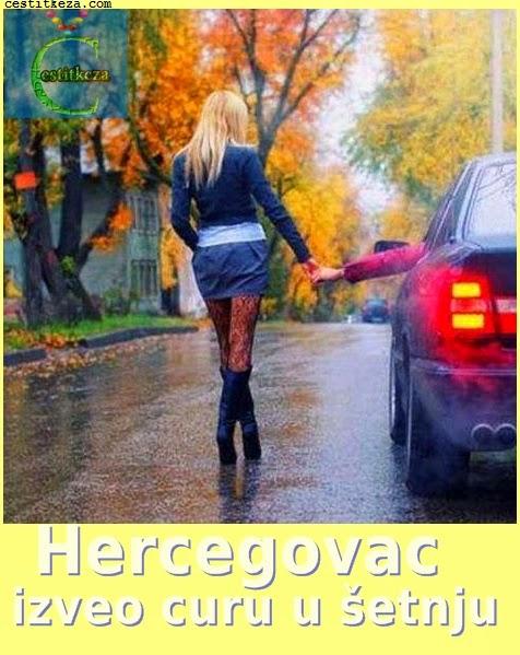Hercegovac izveo curu u šetnju