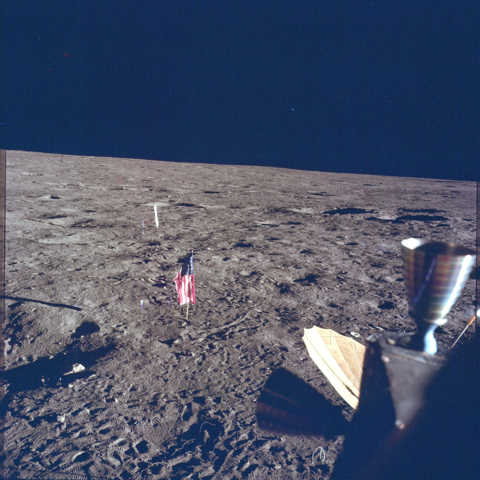 Las imágenes menos conocidas de las Misiones Apolo