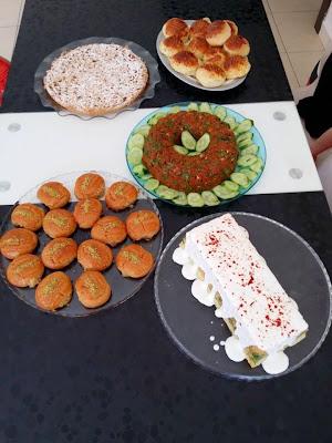 gün menüsü,patates pastası,patates salatası,patates,şekerpare,poğaça,peynirli,kısır,hatay,antakya,elmalı,kurabiye,tart,elmalı kurabiye