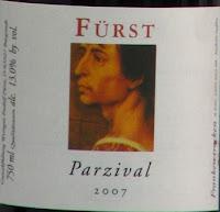 Parzival Rotwein Cuvée von Rudolf Fürst - <center>Bocksbeutel Wein</