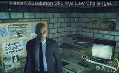 Hitman Absolution Skurkys Law Challenge